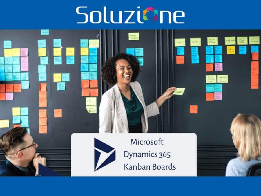 SolzSwimlane kanban board dynamics 365 in Soluzione