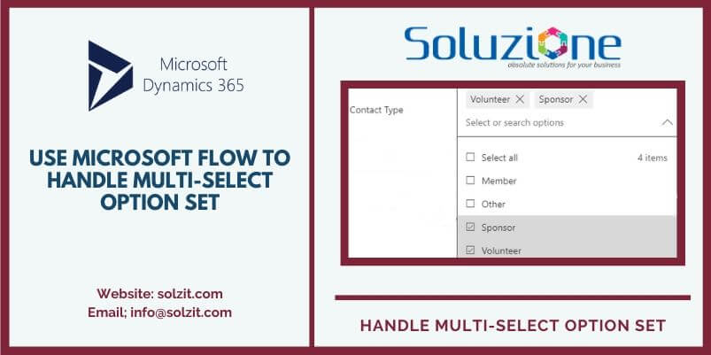 Microsoft Flow to Handle MULTI-SELECT OPTION SET