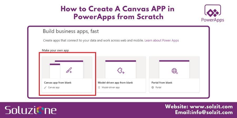 APP in PowerApps from Scratch