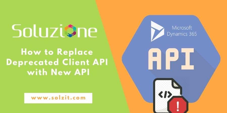 How To Replace Deprecated Client API With New API