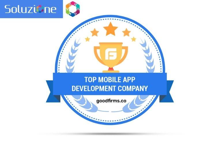 GoodFirms - Awards Soluzione Inc Most prominent IT Company in Soluzione
