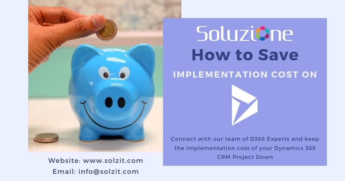 Save Implementation Cost on Dynamics CRM Project in Solzit
