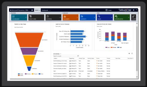 Microsoft Dynamics 365 Marketing in Solzit