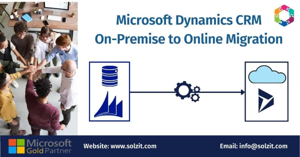 Microsoft Dynamics CRM On-Premise to Online Migration image in Soluzione